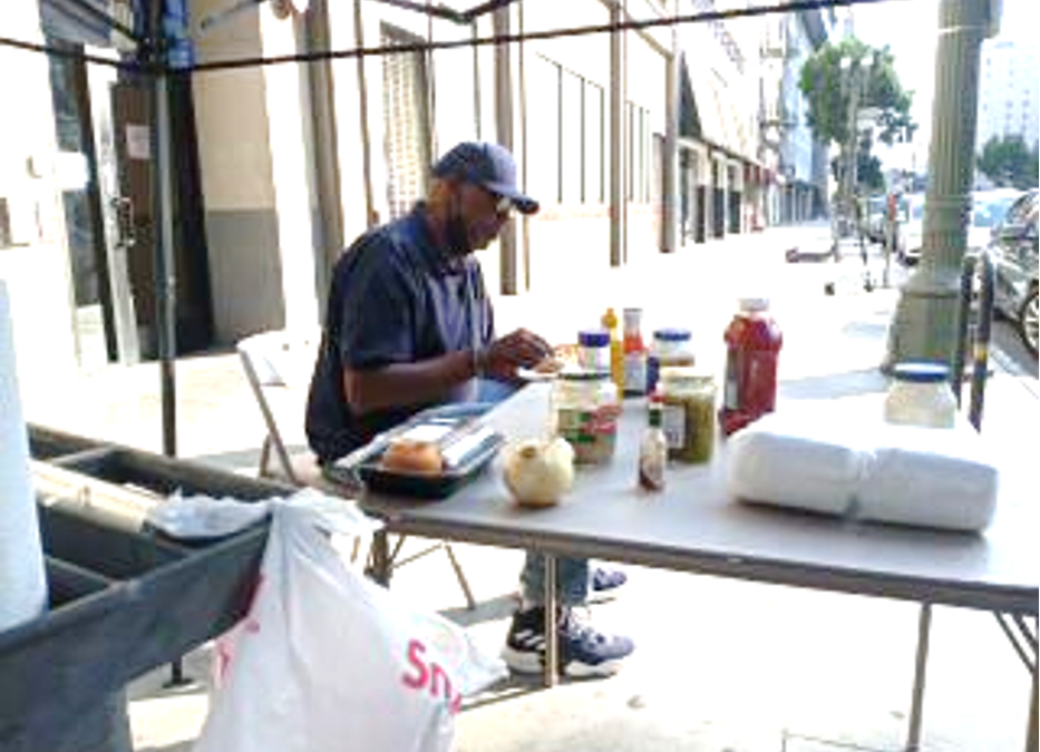 A Hot Day in September on Skid Row